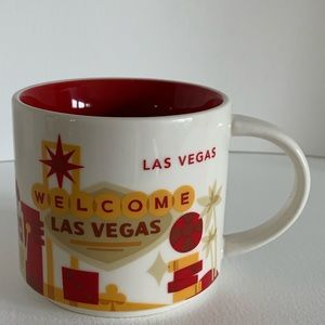 Starbucks Las Vegas coffee cup edition